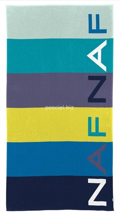 Naf Naf ręcznik plażowy Tenby azul 90x180