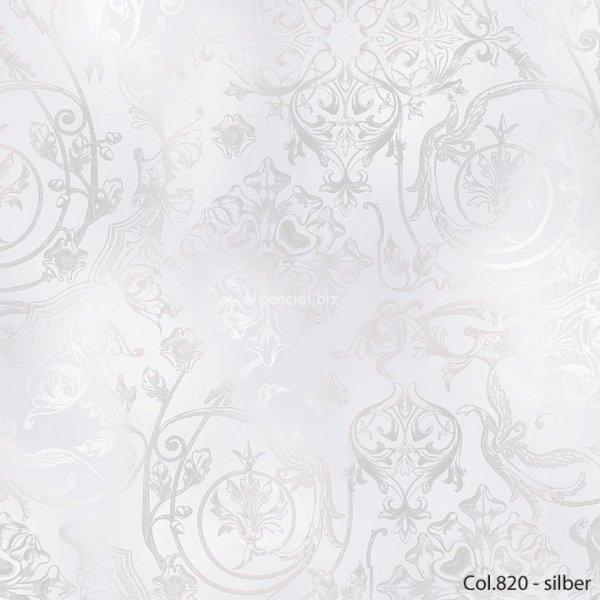 Estella pościel mako-jersey Gregorio silber 6174 200x220