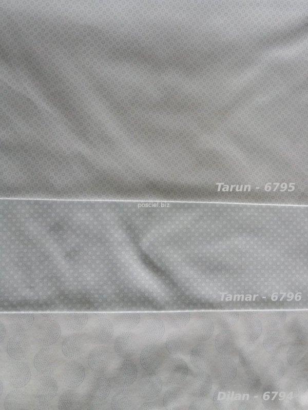 Estella pościel mako-jersey Dilan silber 6794 200x220