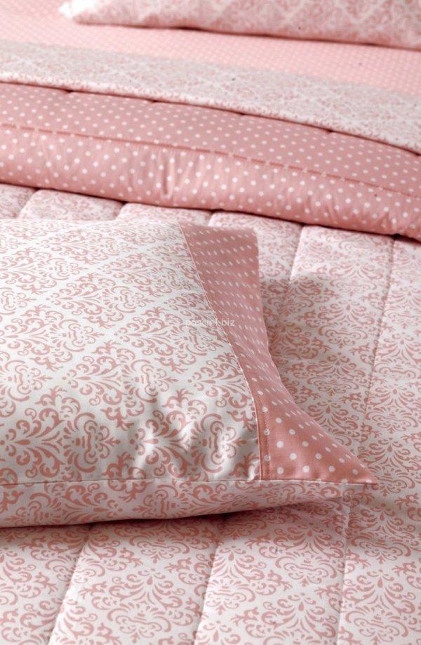 Versace pościel satynowa Damasco różowa 160x200