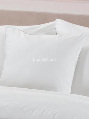 Pościel bawełniana żakardowa Sofia biała 160x200