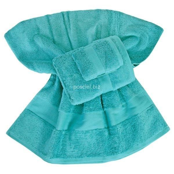 Ręcznik jednolity turkusowy 700g - 50x100