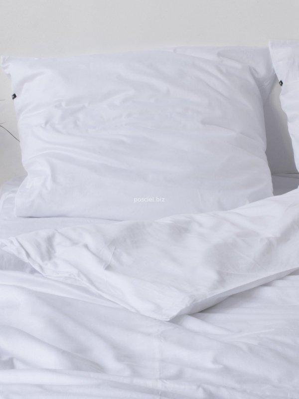 Hop pościel bawełniana płócienna biała