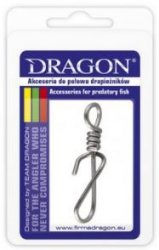 Agrafka DRAGON Quick Lock no.4 10 szt.
