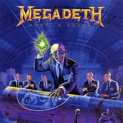 Megadeth - Rust In Peace [CD], Album, Okładka