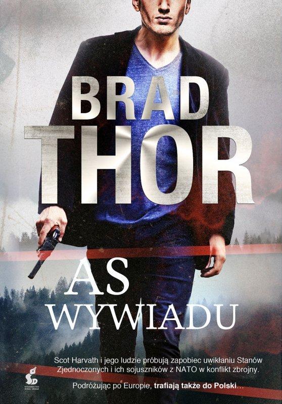 As Wywiadu [Brad Thor], Książka, Okładka