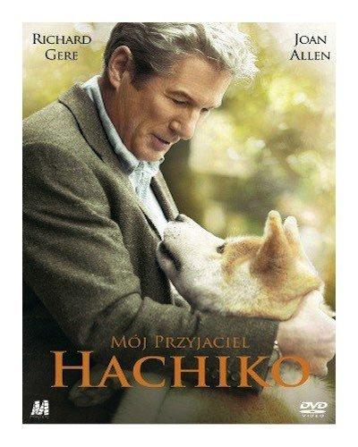 Mój Przyjaciel Hachiko DVD, Film, Okładka