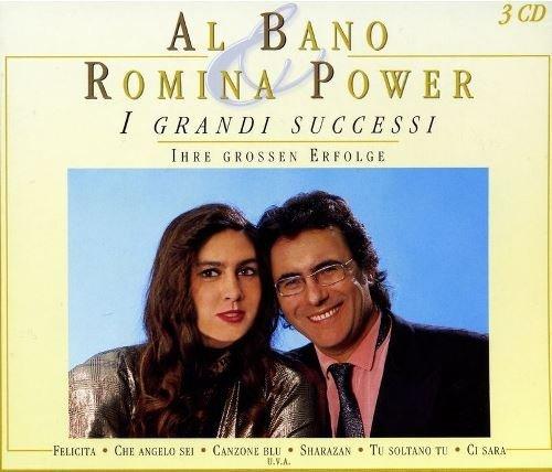 Al Bano Romina Power-I Grandi Successi [3CD], Okładka