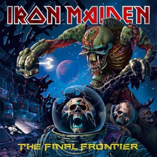 Iron Maiden - The Final Frontier [CD], Okładka