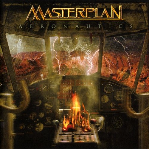 Masterplan - Aeronautics [CD], Okładka