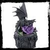 gotycka szkatułka ze smokiem anne stokes dragon beauty szkatuła magiczna na prezent
