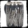 gadżety i prezenty dla fana serialu Gra o Tron - kufel ze smokiem ozdobiony mieczami