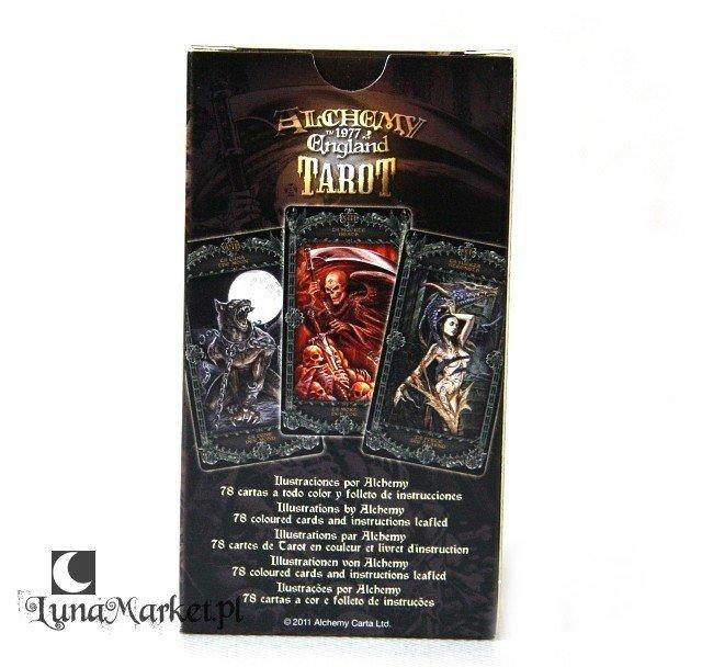 Karty Alchemy England Tarot Instrukcja Po Polsku