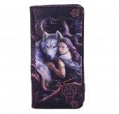 Duchowa Więź Soul Bond Anne Stokes  - portfel z wilkami