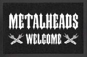 Metalheads Welcome - wycieraczka