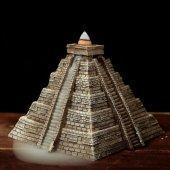 Piramida Azteków - podstawka fontanna na kadzidła backflow