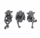 Trzy Mądre Gobliny - zestaw figurek