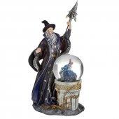 Czarodziej i Smok - figurka z kulą wodną