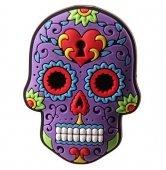 Meksykańska Czaszka fioletowa - magnes