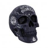 Spirit Board Skull - czaszka ouija figurka