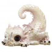 Smoczątko z Motylem - figurka fantasy