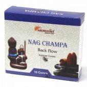 Nag Champa - kadzidełka stożkowe typu backflow op. 10 szt