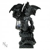 Smok z Latarnią - figura z lampką LED