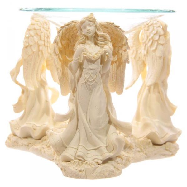 Trzy Anioły - kominek do aromaterapii, podgrzewacz do olejków