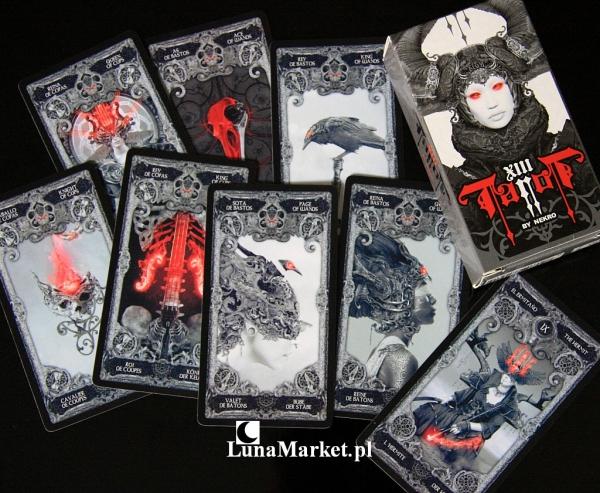 mroczne karty Tarota - XIII Tarot by Nekro