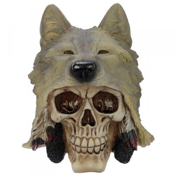 figurka czaszki Wolf Skull | LunaMarket.pl