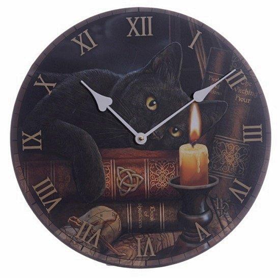 magiczne zegary z kotami, prezenty i gadżety z kotami