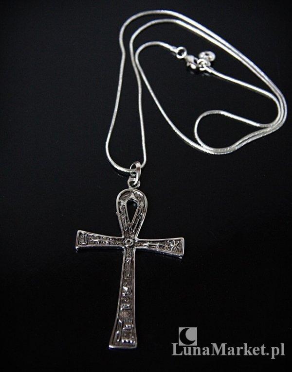 wisiorek w kształcie egipskiego krzyża Nilu - Ankh