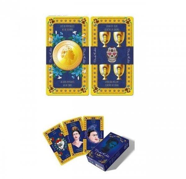 talia kart tarota w meksykańskim stylu - Tarot Frida Kahlo