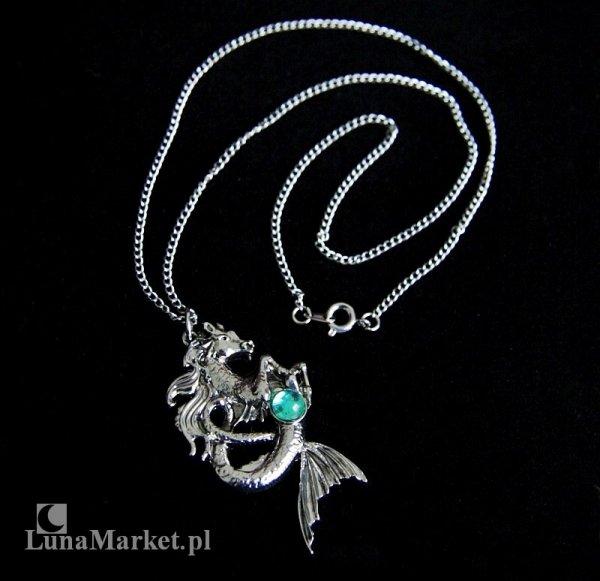 """naszyjnik """"Kelpie"""" Koń Wodny - magiczna biżuteria, seria: Bestiariusz"""