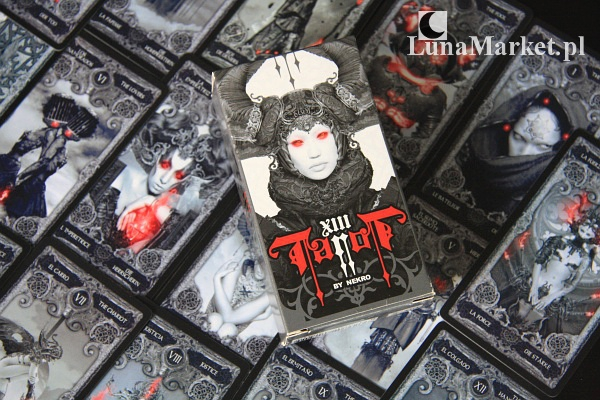 XIII Tarot by Nekro - talia kart tarota