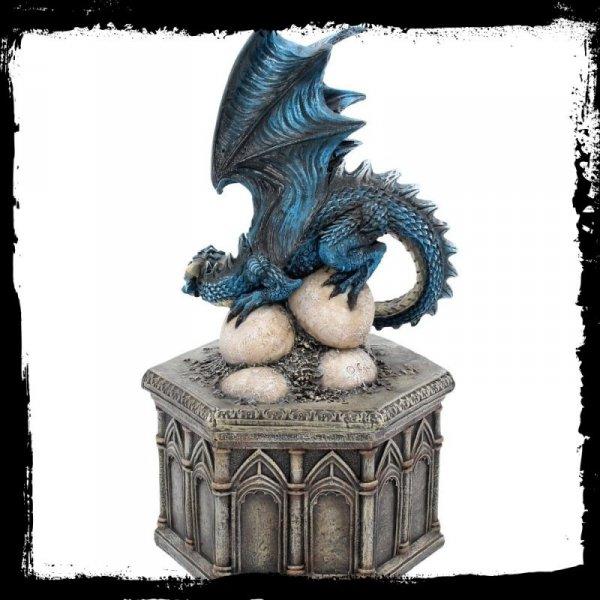 Roost of Cryondrix - duża szkatułka na biżuterię ze smokiem