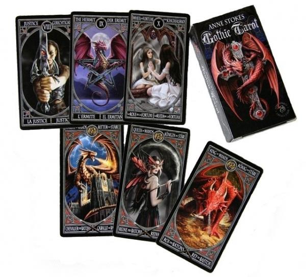 Anne Stokes Gothic Tarot - talia kart tarota