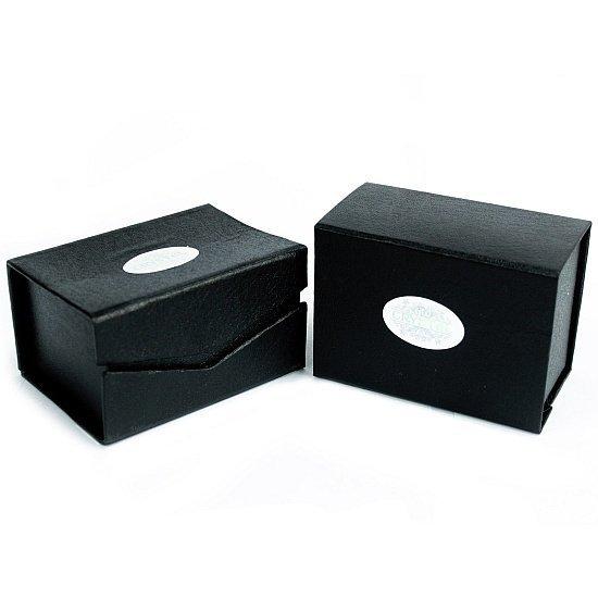 szklana kula kryształowa duża 15 cm do wróżenia, ze szklaną podstawką - pudełko