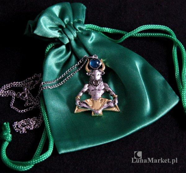 """naszyjnik Minotaur talizman """"Siła i Spokój"""" biżuteria magiczna, seria: Briar Bestiary"""