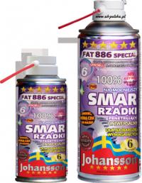 Smar rzadki penetrujący FAT 886 SPECIAL 400ml spray Johansson