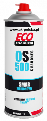 OS 500 Smar silikonowy spray ECOCHEMICAL 400ml