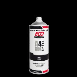 A4 INOX SPRAY stal niedzewna w sprayu ECOCHEMICAL 400ml