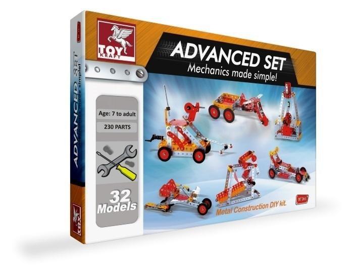 Metalowe konstrukcje - 32 modele TOY KRAFT