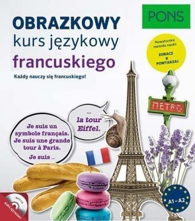 Obrazkowy kurs języka francuskiego z płytą CD