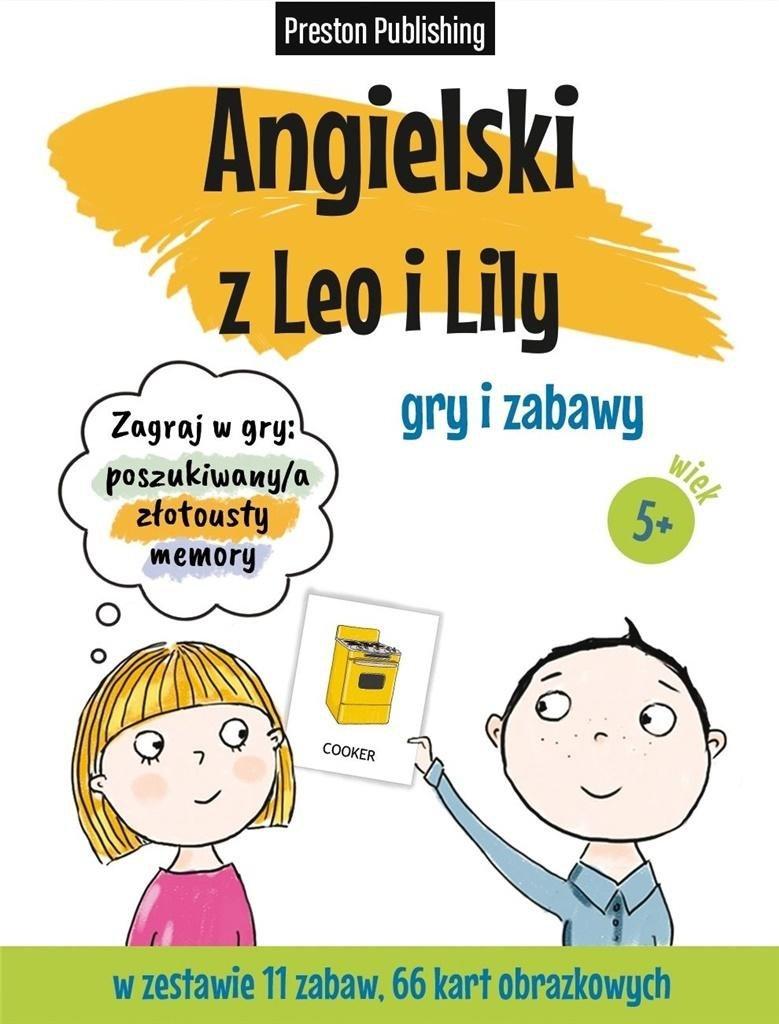 Karty obrazkowe - Angielski z Leo i Lily
