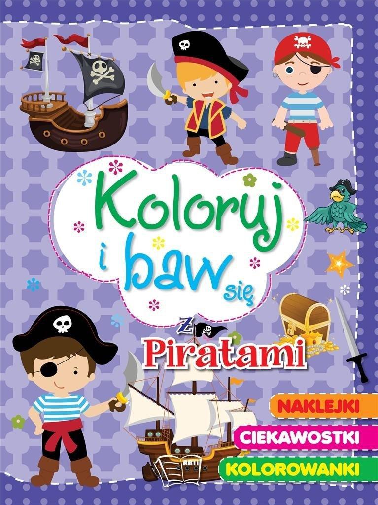 Koloruj i baw się - z piratami