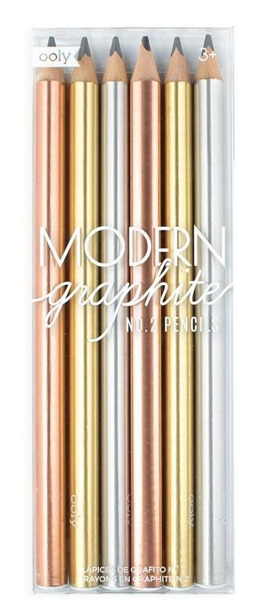 Ołówki Modern graphite 6szt