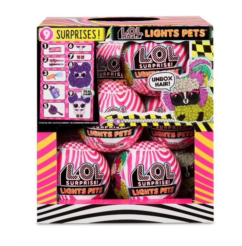 LOL Surprise Lights Pets Asst in PDQ (12szt)