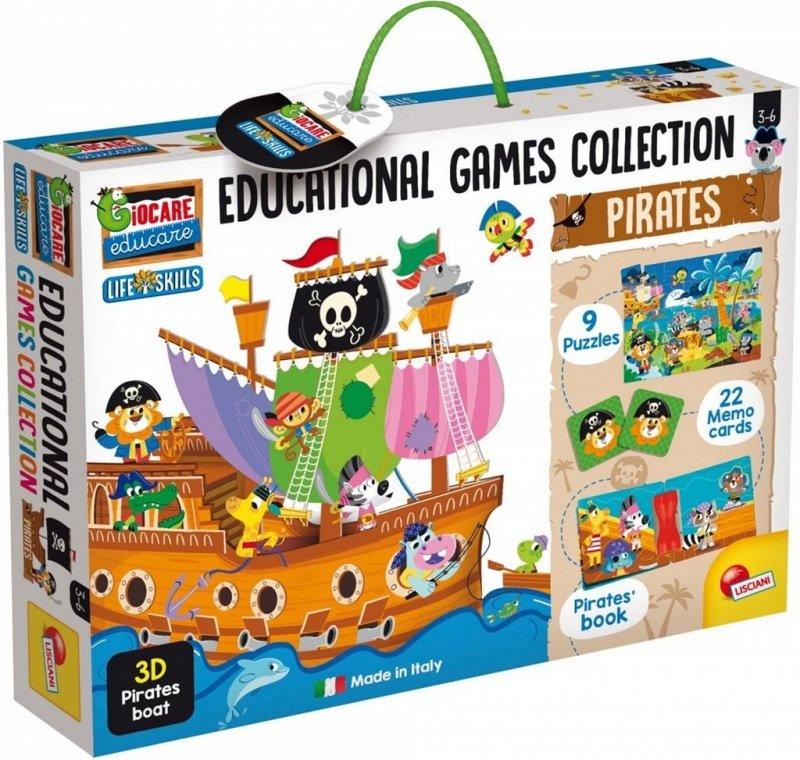 Kolekcja gier edukacyjnych - Piraci