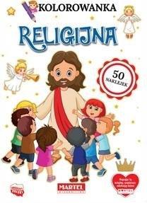 Kolorowanka Religijna z naklejkami